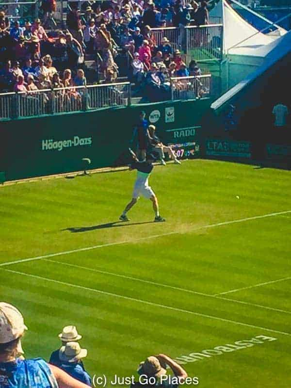 Sadly, Andy Murray did not fare well at the Eastbourne international tennis tournament.