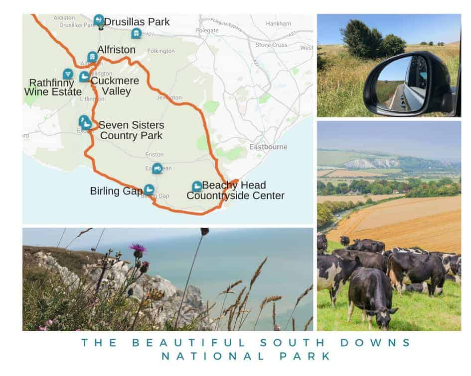 An itinerary for a weekend in the South Downs near Eastbourne