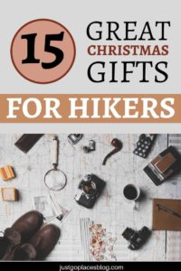A born and bred city girl, I am discovering a love for the outdoors.These are the practical gadgets for hikers we always take when we go exploring nature. Many of these gifts for hikers and campers are not expensive. Check out these 15 gift ideas for hikers that make easy gifts to encourage wholesome outdoorsy family activity! #gifts #christmasgifts #giftsforfriends #hiking #hikinggear #gadgets #giftideas