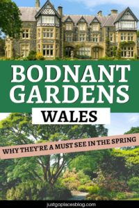 If you are in the Conwy North Wales area in the spring, lucky you! Make sure you swing by the National Trust property, Bodnant Gardens to catch the famous Bodnant Gardens Laburnum Arch in bloom. Discover why you should visit Bodnant Gardens, North Wales, in the spring.