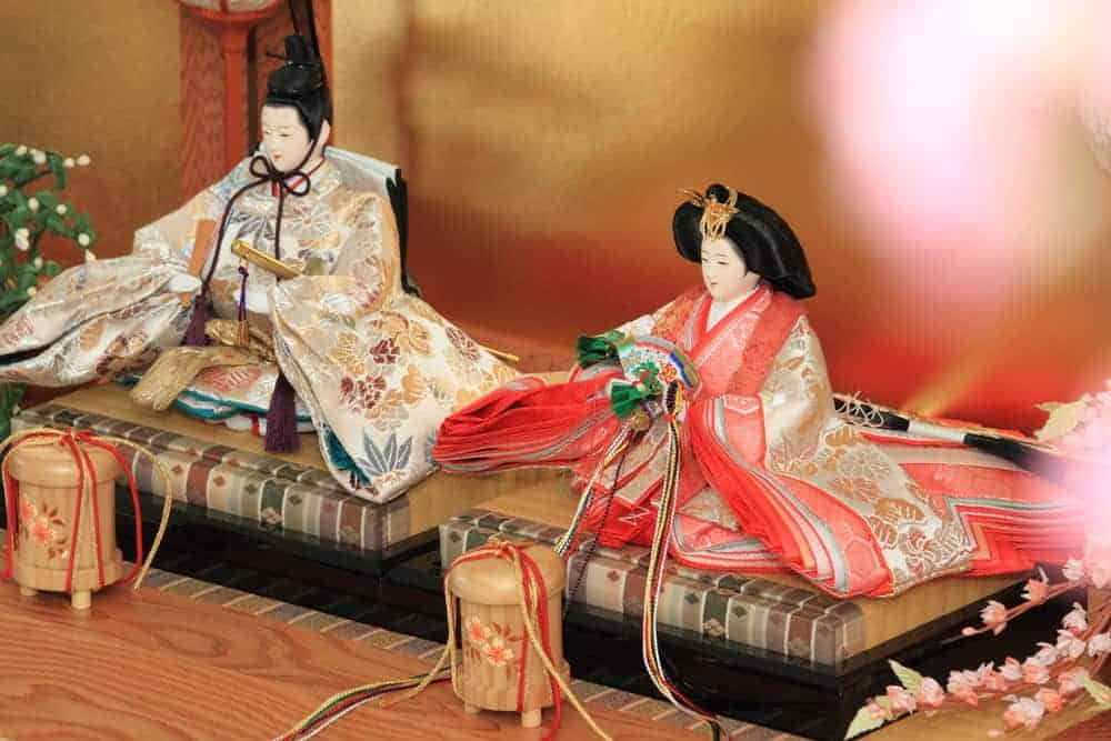 HInamatsuri dolls are used in the Hinamatsuri festival celebrated annually in March.