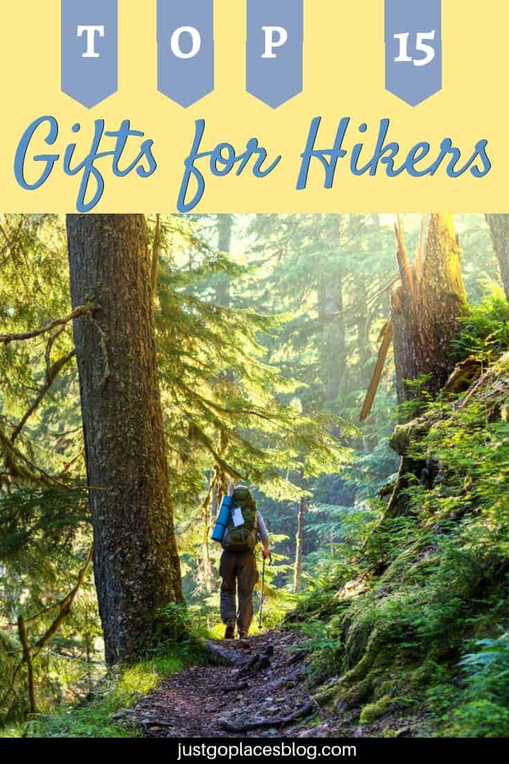 A list of good gifts for hikers across price points and from the practical to the inspirational #hiking #hikinggear