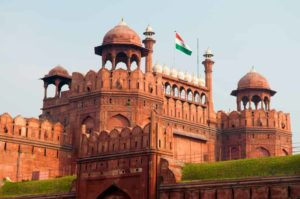 The Red Fort in New Delhi, a must-visit on any Golden Triangle tour
