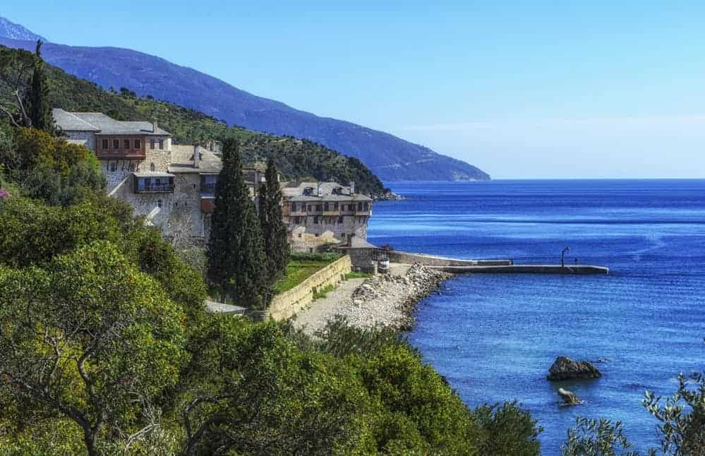 Visiting Mount Athos and any of its monasteries is forbidden for women thanks to a decree by Emperor Constantine nearly 1000 years ago.