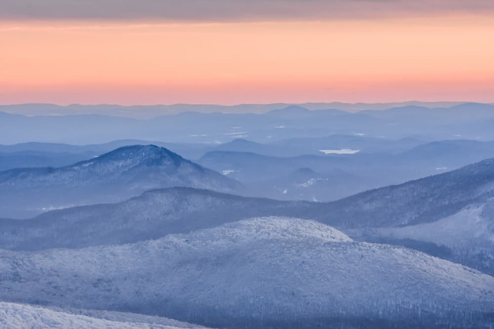 Jay Peak and the stunning White Mountains of Vermont, one of the best resorts in the Northeast
