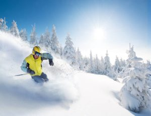 You get some of the best American ski resorts in the Northeast.