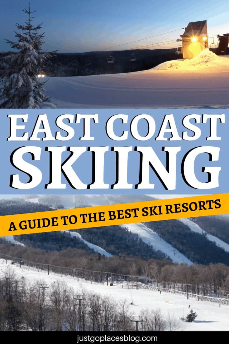 The best skiing on the East Coast of the USA tends to be overshadowed by the premier ski facilities you find in the resorts of the West Coast. However, there is plenty of variety and great skiing to be had at East Coast ski resorts. Check out the best East Coast ski towns and start planning your East Coast ski trip. #skiing #skiingmode #skiresorts #eastcoast #usa