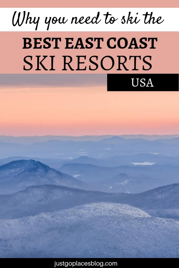 A guide to the best ski resorts on the East Coast of the USA