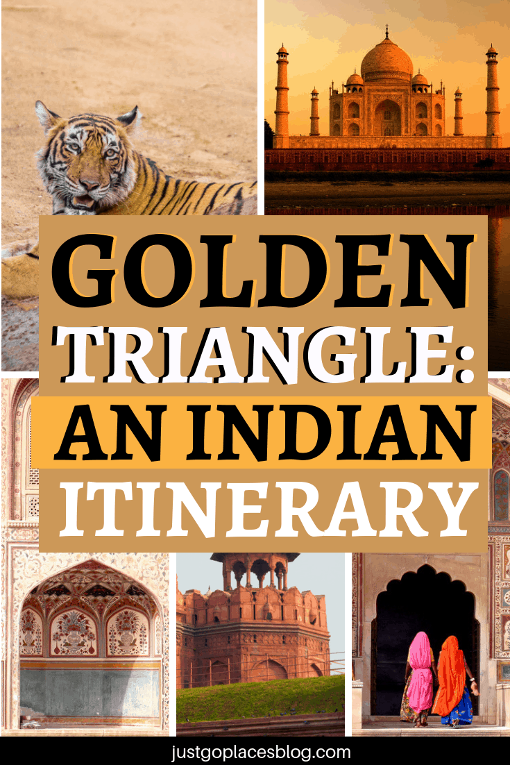 Will amazing palaces, grand romantic gestures, and scrumptious food tick your boxes for a bucket list adventure? Then you should hurry over to visit the so-called Golden Triangle of India. Check out this super popular tourist itinerary in India that covers 3 cities (New Delhi, Agra, Jaipur) and hundreds of years of history! #india #itinerary #goldentriangle #indiatravel