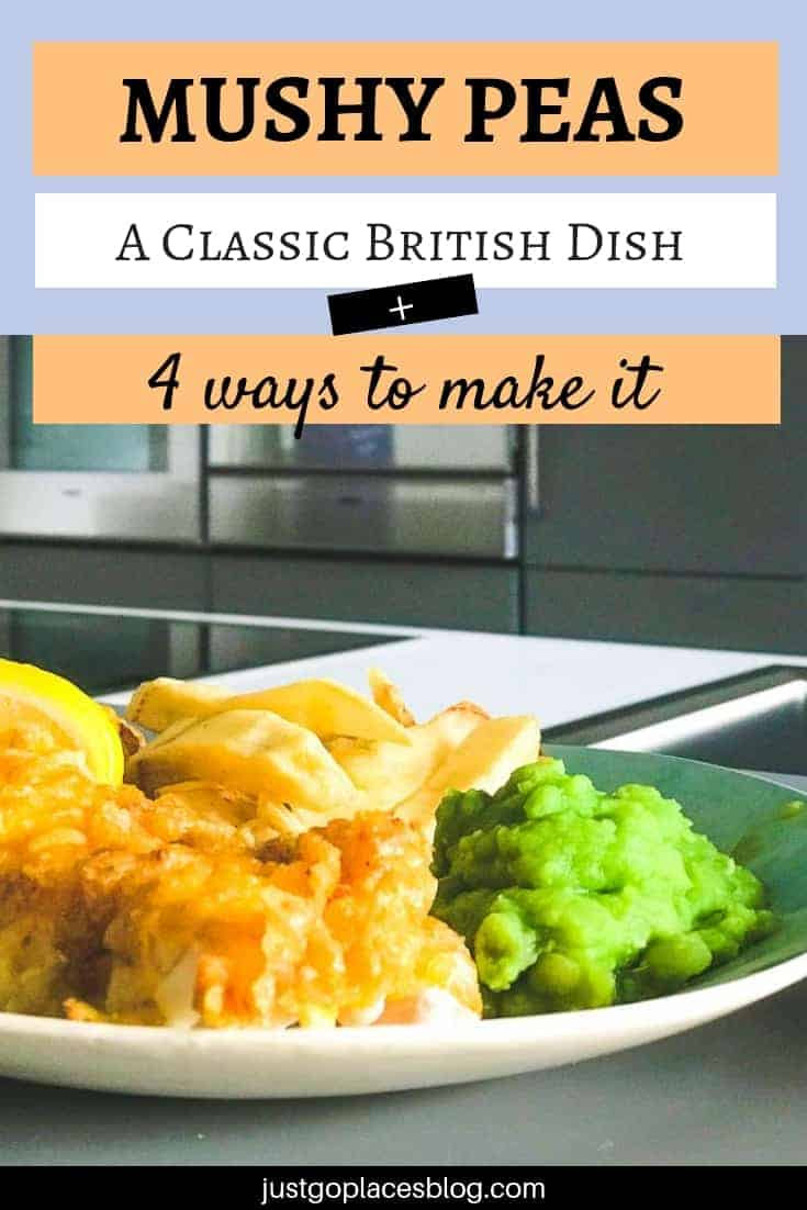 How to make mushy peas, both as a traditional side dish and as a fresh take on old favourites