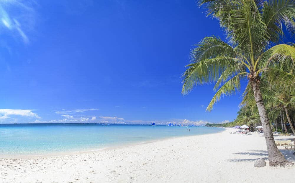 Boracay White Beach may be the most famous of the beaches of Boracay but not the only Boracay beach
