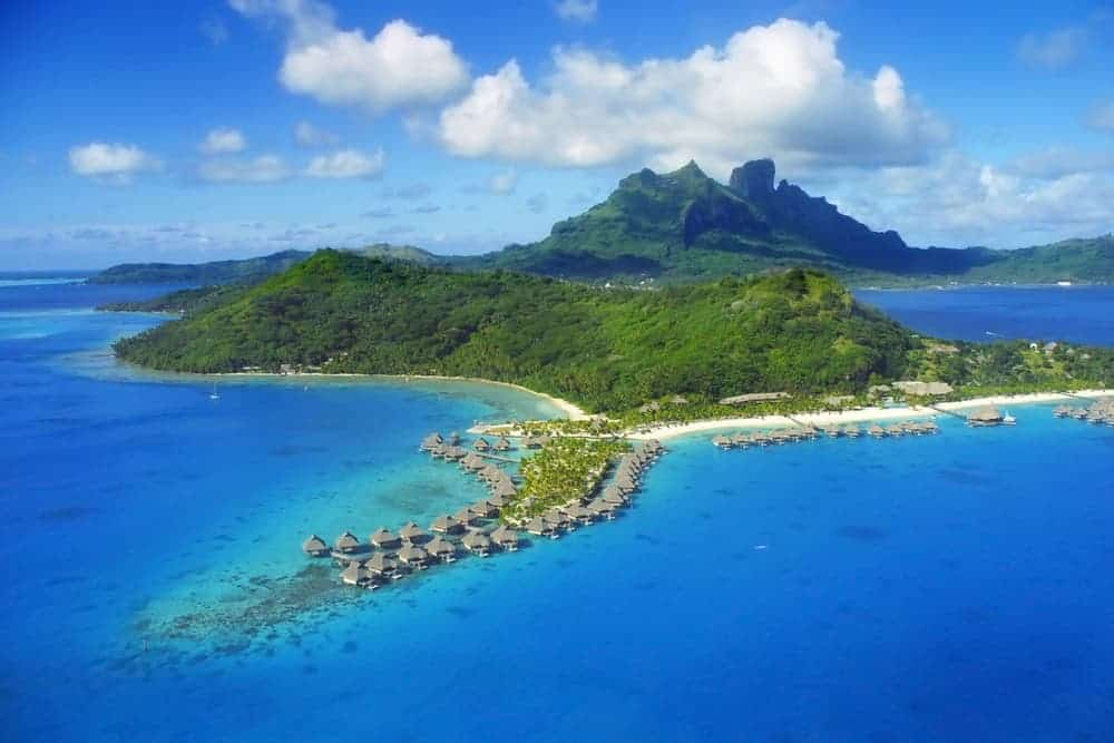 A luxury round the world trip can include a visit to Bora Bora