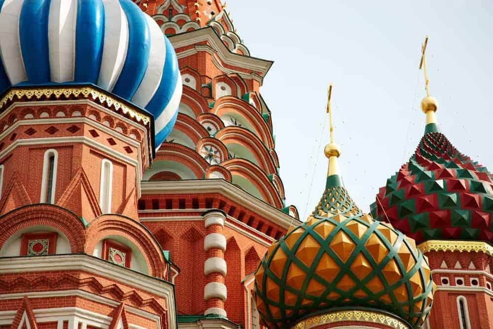 The Four Seasons private jet tour includes a visit to Russia.