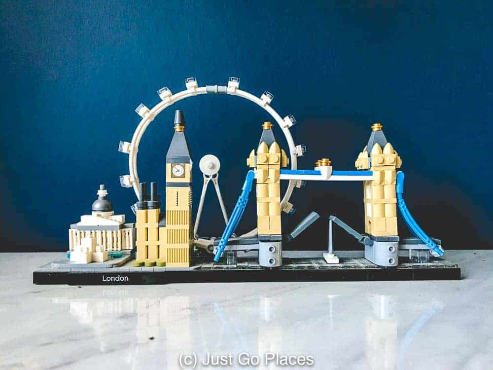 My son loves this Lego Architecture set of London landmarks