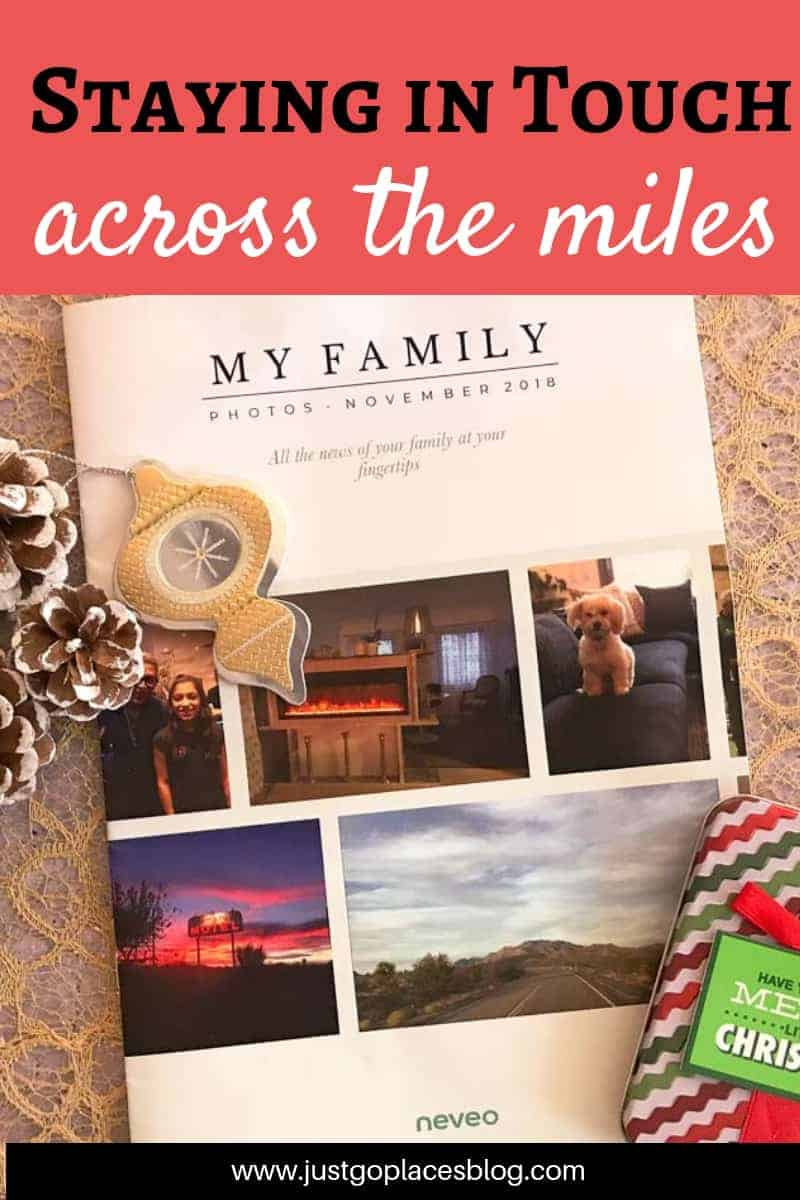 Using a digital diary can improve long distance communication between family members especially when they can be printed out as a family newsletter