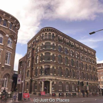 Factories and workhouses provided work for the poor such as this Menier chocolate factory which is now a trendy residence.