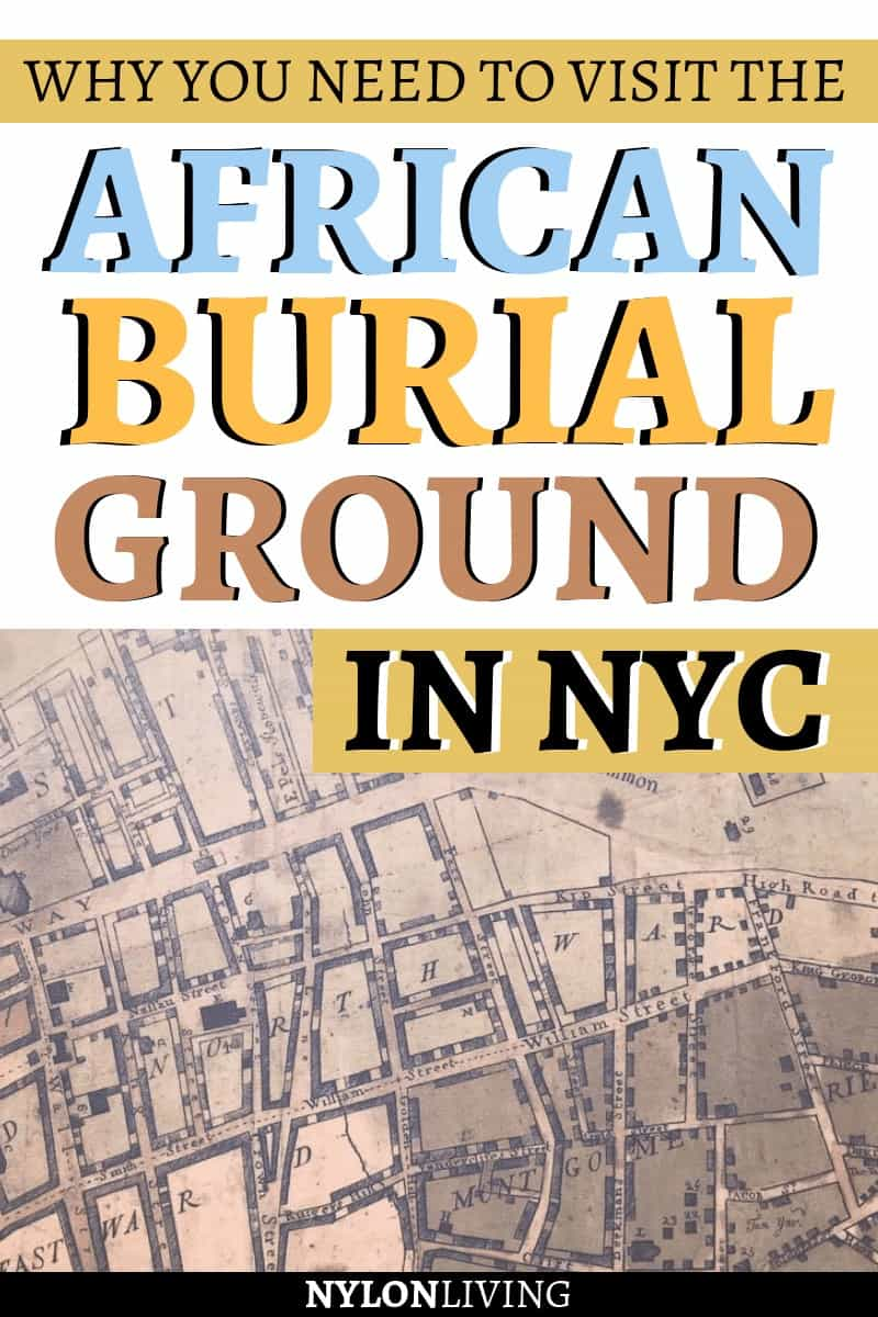 The African Burial Ground National Monument is one of the most important black history sites in New York City, and one you should really visit (also with the kids) to learn the history behind this place. Discovered only in 1991, it was a burial site for both free and enslaved slaves, and visiting will move you. Check out why you need to visit the African Burial Ground, NYC. #blackhistory #history #nyc #newyork