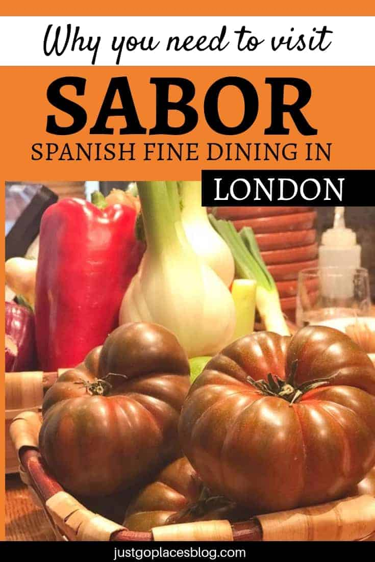 Sabor Restaurant in London #restaurantlondon #londonrestaurant #mayfair #spanishfood #spanishrestaurant #sabormayfair