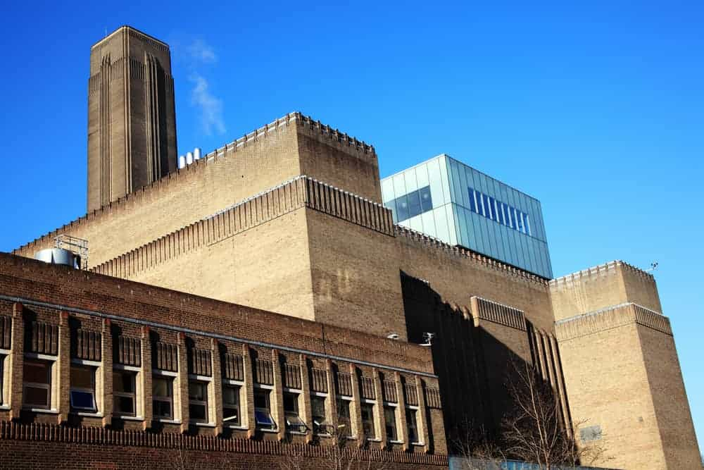 The striking building housing the Tate Modern