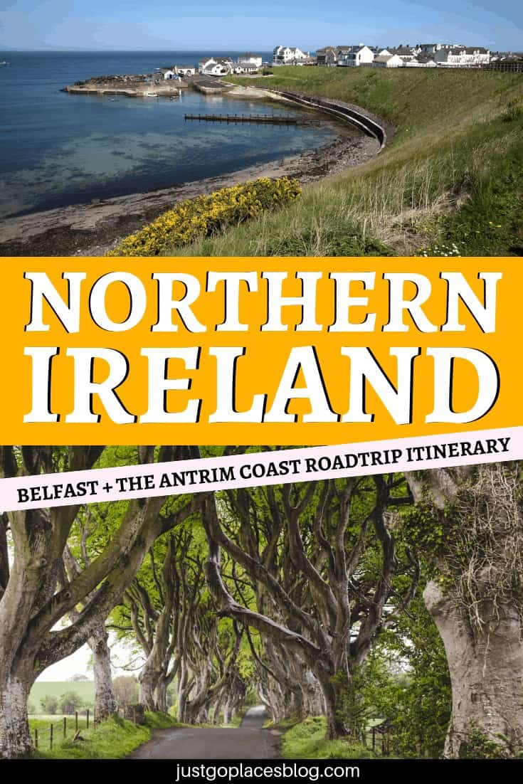 Northern Ireland is such a beautiful, and somewhat underrated, place and an incredible destination for a road trip! Check out this Northern Ireland itinerary that includes the stunning Antrim Coast, the capital Belfast, Northern Ireland castles and some breathtaking views on this Northern Ireland road trip (some of those you saw in Game of Thrones!). #northernireland #belfast #antrimcoast #roadtrip #gameofthrones