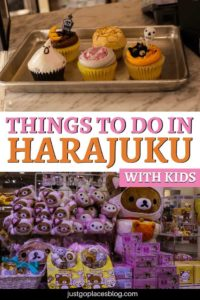 What is a visit to Tokyo without an escapade to Harajuku, one of the quirkiest neighborhoods in Tokyo? And especially if you're traveling to Tokyo with children, they'll love it! Click this pin to discover how to visit Harajuku with kids + the best things to do in Harajuku, Tokyo. #harajuku #tokyo #tokyotravel #japan #travelwithchildren