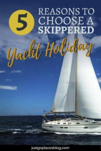 My sailing lessons were a disaster.Would I take a bareboat yacht charter anywhere? It's way too much like hard work. My idea of unforgettable sailing holidays involve either a skippered yacht charter or a crewed yacht charters doing the actual sailing while I lounge about with a drink in my hand. Check out 5 reasons to choose a skippered yacht holiday this summer...maybe in Greece? #yachting #sailing #sailingholidays #yachtcharter