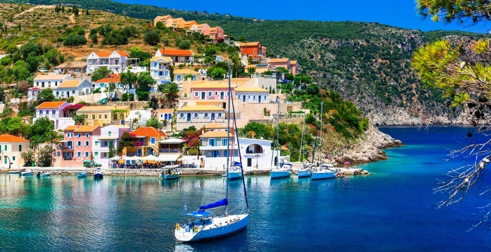 Sailing holidays in Greece allow you to explore different islands easily.