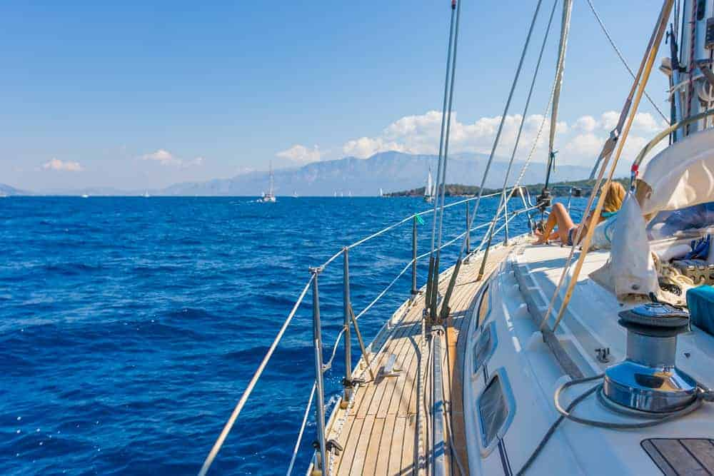 My perfect sailing holidays include plenty of R&R