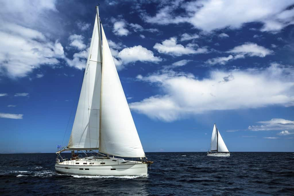 Sailing in a flotilla is great for inexperienced sailors who want to learn to skipper during a sailing holiday.