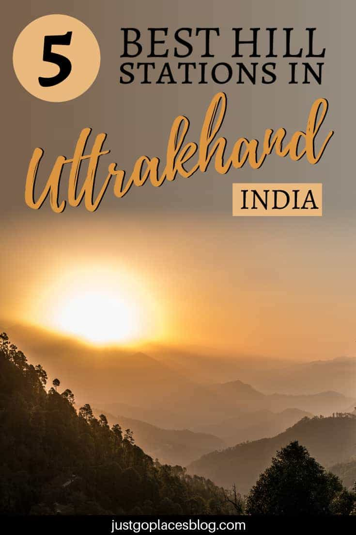 Chances are you haven't heard about Uttrakhand, a state in the North of India. The British Empire built hill stations in Uttrakhand as their summer escapes. In places like Nainital hill station and Mussoorie hill station, you can enjoy trekking and climbing surrounded by the Himalaya Mountains. In winter, Auli hill station has some of the best skiing in India.Check out the best 5 hill stations in Uttrakhand, India! #uttrakhand #india #hillstation