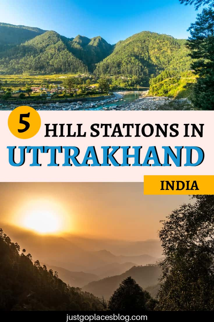 5 hill stations in uttrakhand india