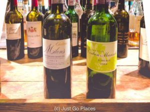 A selection of the St. Emilion wine we tried on Greg's impromptu St. Emilion wine tour.