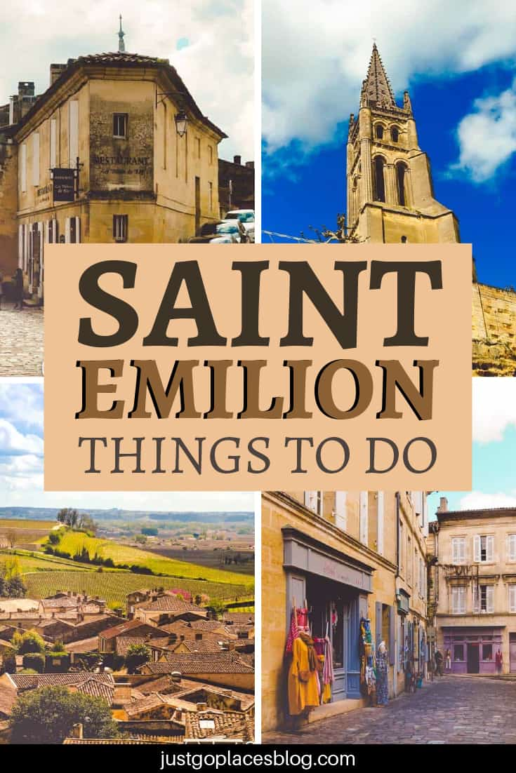 Saint Emilion things to do