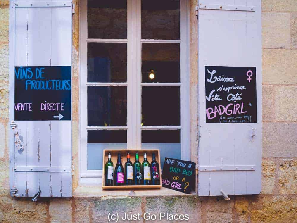 Bad Boy Bordeaux has lead to other garagiste Saint-Emilion wines such as Bad Girl