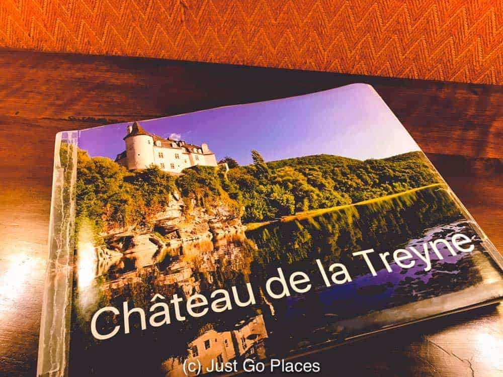 A book details the extensive work done at the Chateau de Treyne to get it to current luxury standards.