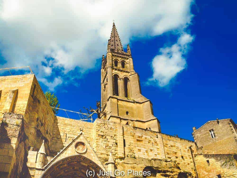 The St Emilion monolithic church is definitely an impressive structure
