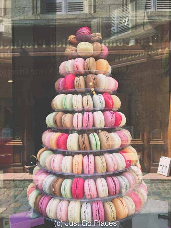 Indulging in macarons when you visit St Emilion is among the fun things to do in St Emilion