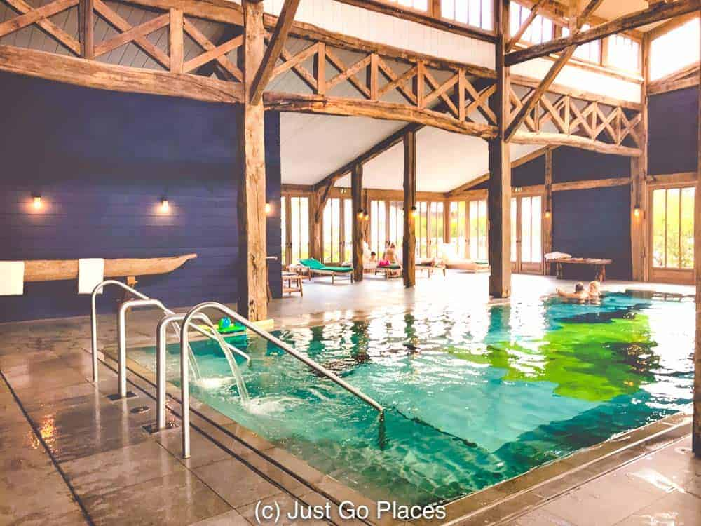 This Bordeaux hotel with indoor pool is great for families too.
