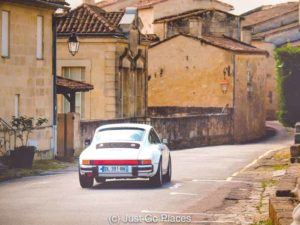 A Bordeaux wine tour involving a Porsche sounds like a good idea but someone will have to be the designated driver.