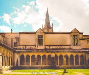 The cloisters of the parish church of St Emilion Bordeaux