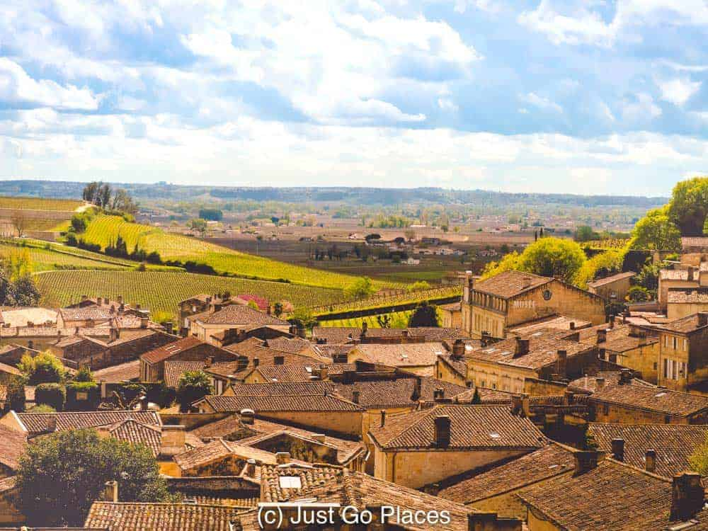 Some of the best St Emilion wine is grown in the Saint Emilion vineyards  closest to the town.