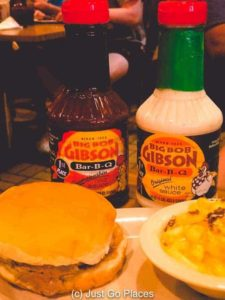 Eating barbecue at Big Bob Gibson is one of the essential things to do in Decatur Alabama