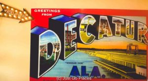 Things to do in Decatur AL include museums, parks and history tours
