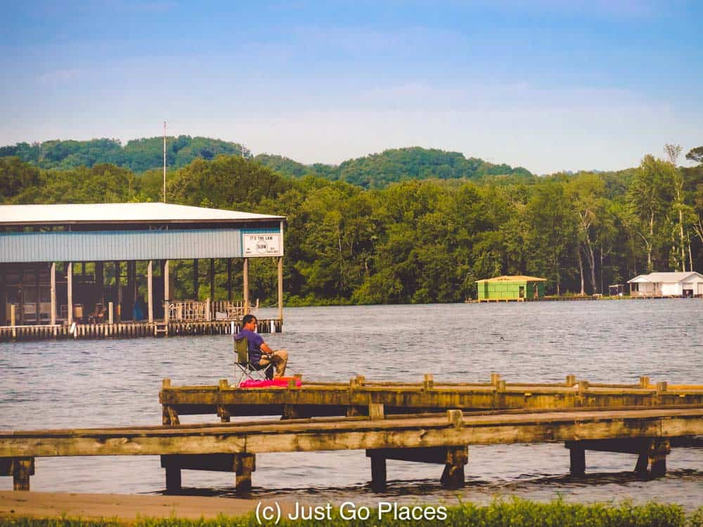 Fishing is one of the many sports available at Jackson County Park.