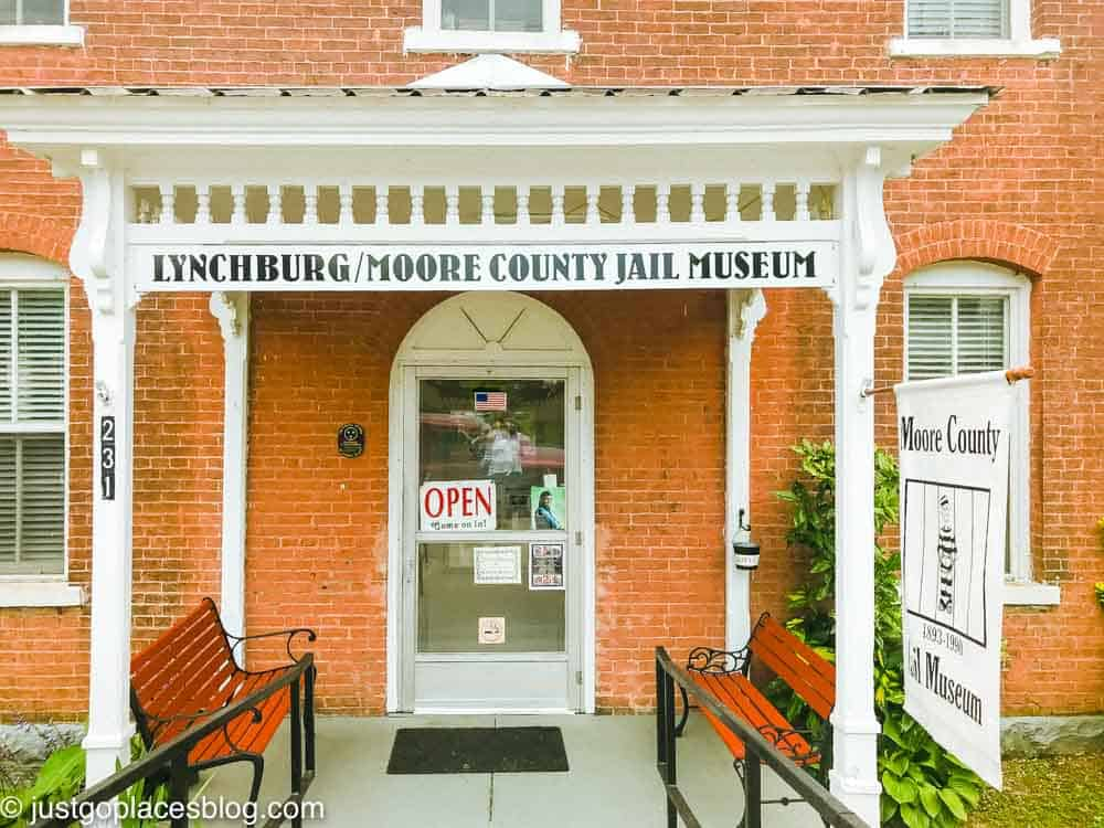 The Moore County Jail Museum is run by a former deputy sheriff.