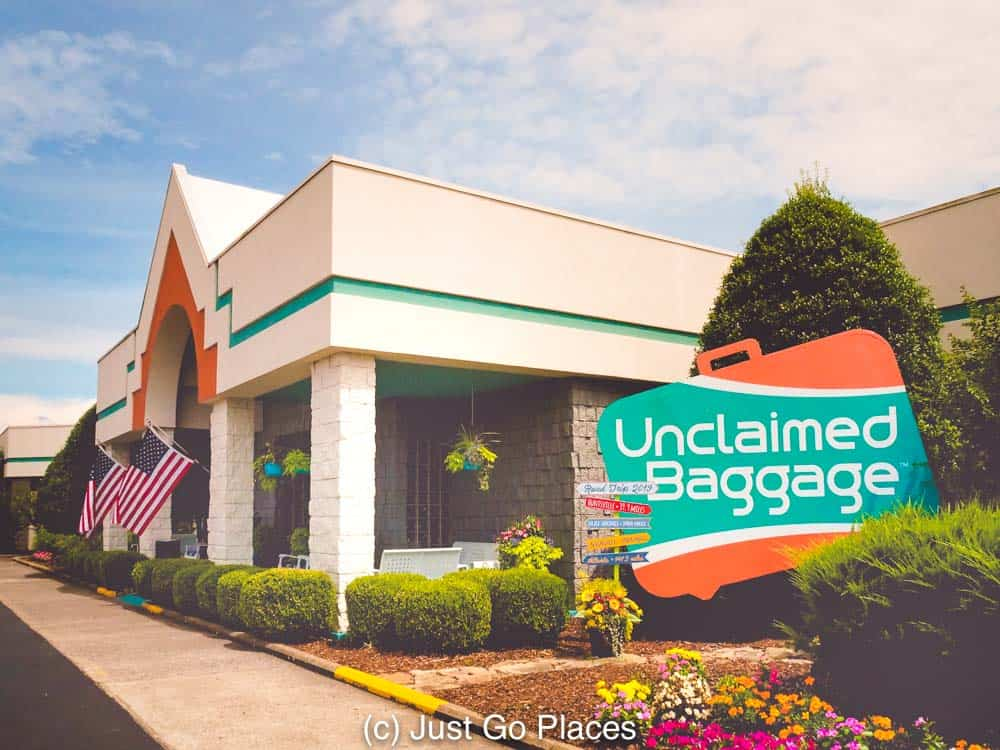 The Unclaimed Baggage Store Alabama is a treasure trove of well=priced items where you will never know what you will find.