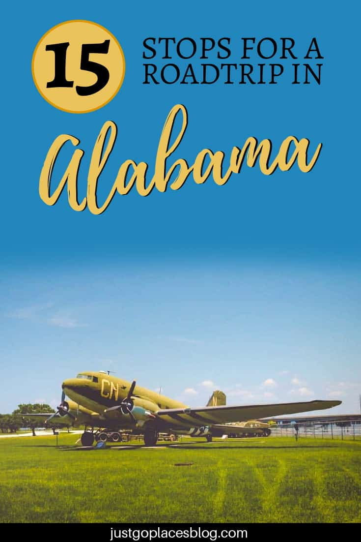 15 stops for a roadtrip in alabama