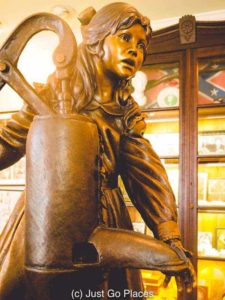 This statue of Helen Keller is a replica of one at the State House in Montgomery Alabama