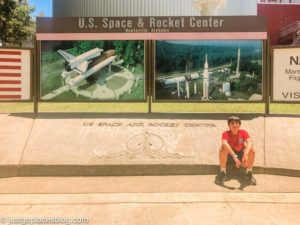 The Huntsville AL space center is the most popular attraction in town