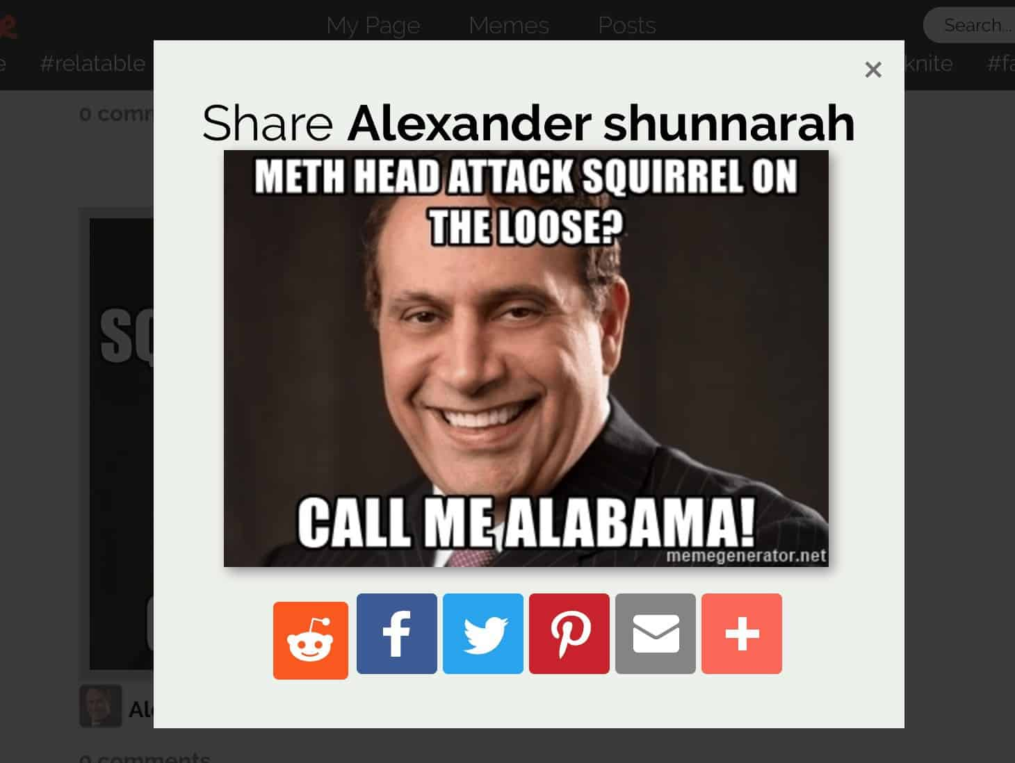 The Shunnarah Alabama Road Signs have elevated him to meme-status.